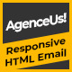 AgenceUs | Responsive HTML Email Template + Stampready Builder - ThemeForest Item for Sale