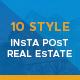 10 Instagram Real Estate Post - GraphicRiver Item for Sale