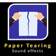 Paper Tearing and Crumpling Sounds