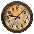 Old round wall clock - PhotoDune Item for Sale
