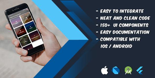 Flutter UI Components Download