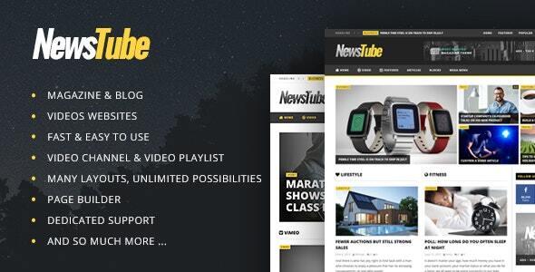 Themeforest   NewsTube - Magazine Blog & Video Free Download free download Themeforest   NewsTube - Magazine Blog & Video Free Download nulled Themeforest   NewsTube - Magazine Blog & Video Free Download