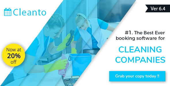 Bookings management system for cleaners and cleaning companies - Cleanto