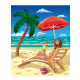 Girl On a Beach - GraphicRiver Item for Sale