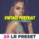 20 Vintage Portraits Lightroom Presets Pack - GraphicRiver Item for Sale
