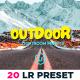 20 Outdoor Lightroom Presets - GraphicRiver Item for Sale