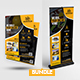 Construction Flyer with Rollup Bundle - GraphicRiver Item for Sale