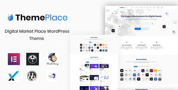 ThemePlace - Marketplace WordPress Theme
