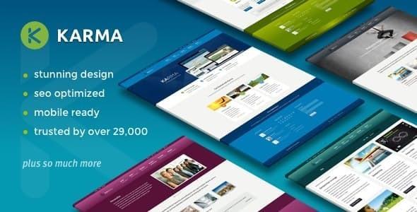 Karma - responsywny motyw WordPress