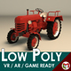 Low Poly Tractor 01 - 3DOcean Item for Sale