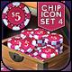 VOKR - Poker Chip Pack 4 - GraphicRiver Item for Sale