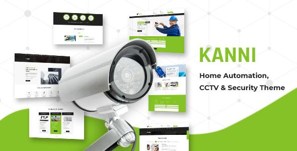 Kanni - Home Automation, CCTV & Security Theme