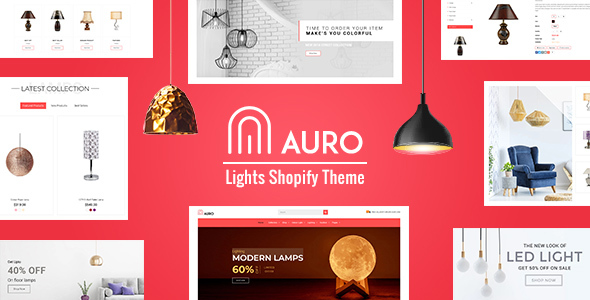 Auro | Lights Shopify Store Theme