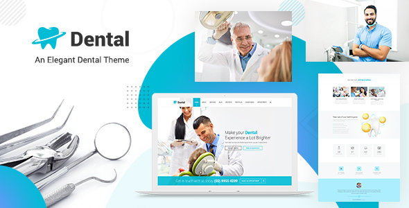 Dental - Dentist Doctor WordPress Theme