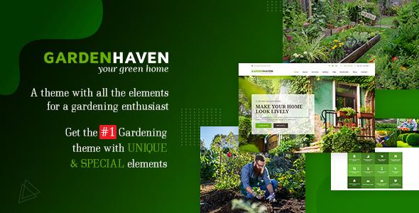 Gardening - Landscaping Theme