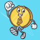 Bitcoin Mascot - GraphicRiver Item for Sale