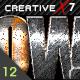 CreativeX7 - 12 Photoshop Metal Styles - GraphicRiver Item for Sale