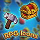 RPG Icons Set - GraphicRiver Item for Sale