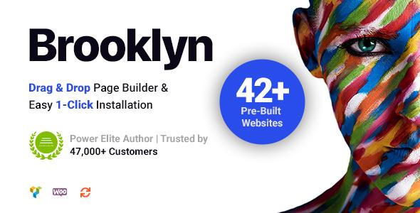 Brooklyn | Kreatywny, uniwersalny, responsywny motyw WordPress