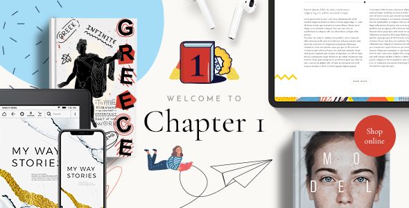 ChapterOne - Bookstore and Publisher Theme