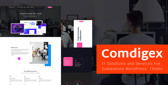 Comdigex - IT Solutions and Services Company WP Theme 2