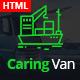 Caring Van-Logistics & Transport HTML5 Template - ThemeForest Item for Sale