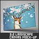3:2 Landscape Canvas Mock-Up - GraphicRiver Item for Sale