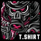 Samurai Something T-Shirt Design - GraphicRiver Item for Sale