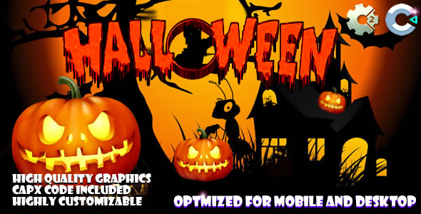 Halloween Where Is The Cat (C2,C3,HTML5) Game.