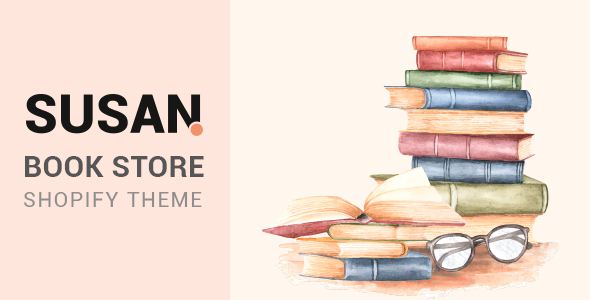 Susan - Book Store Shopify Theme
