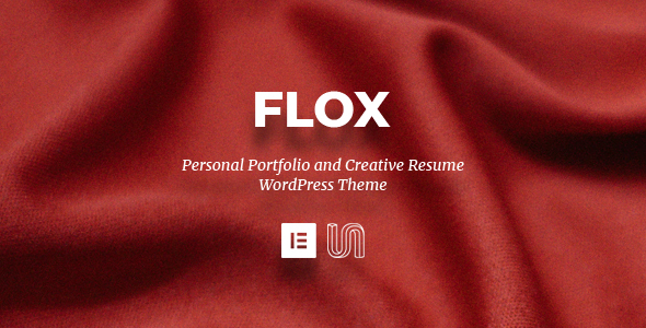 FLOX - Personal Portfolio & Resume WordPress Theme