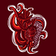 Tentacle Heart Illustration - GraphicRiver Item for Sale