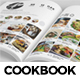 Cook Book Magazine That Looks Like an App - GraphicRiver Item for Sale