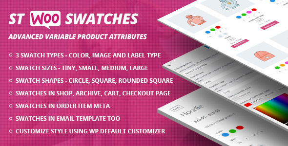 WooCommerce Swatches ( Color, Image and Label Swatch )