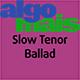 Slow Tenor Ballad - AudioJungle Item for Sale