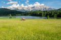 Alpine Lake and flowering meadow in Bavaria - PhotoDune Item for Sale
