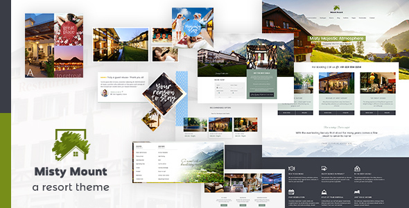 Mount Resort WordPress