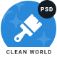 Clean World | Cleaning and Myriad Service PSD Template - ThemeForest Item for Sale