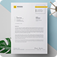 Clean Letterhead - GraphicRiver Item for Sale