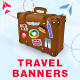Travel HTML5 Banners - 8 Sizes - CodeCanyon Item for Sale