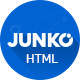 Junko - Electronics eCommerce HTML Template - ThemeForest Item for Sale