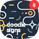 Geometric Doodle Signs Seamless Patterns - GraphicRiver Item for Sale