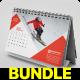 Desk Calendar 2020 Bundle - GraphicRiver Item for Sale