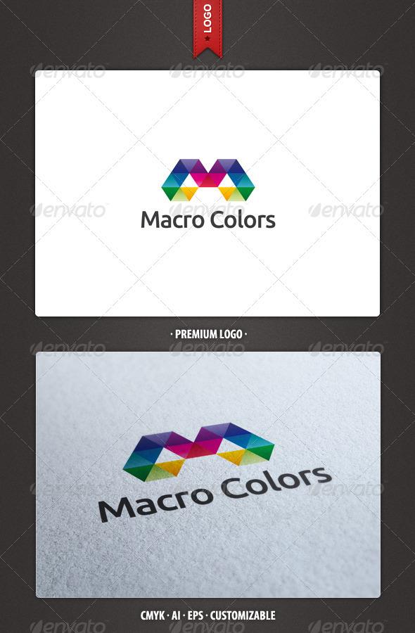 Macro Colors Logo Template