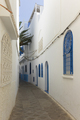 Narrow old street  in the medina of Assilah - PhotoDune Item for Sale