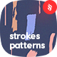 Brush Strokes Seamless Patterns - GraphicRiver Item for Sale