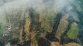 Overhead Aerial Shoot of village in rural area - PhotoDune Item for Sale