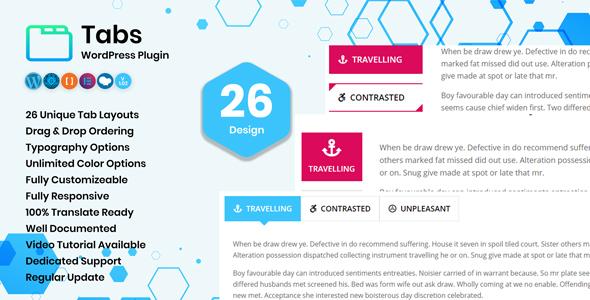Tabs - WordPress Plugin