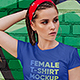 Female T-Shirt in City Mockups Vol3 - GraphicRiver Item for Sale