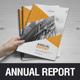 Annual Report Design v5 - GraphicRiver Item for Sale